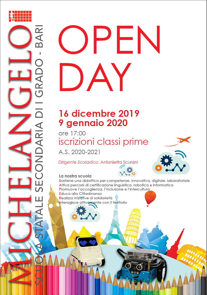 OPEN DAY 2019 20